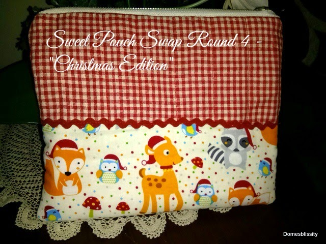 Sweet Pouch Swap Round 4 – Christmas Edition