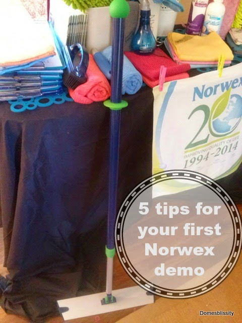 5 tips for your first Party Plan demonstration