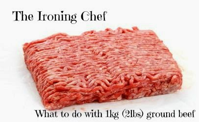 What to make with 1kg (2lbs) ground beef