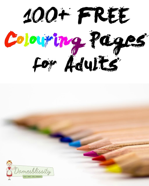 100+ free colouring pages for adults