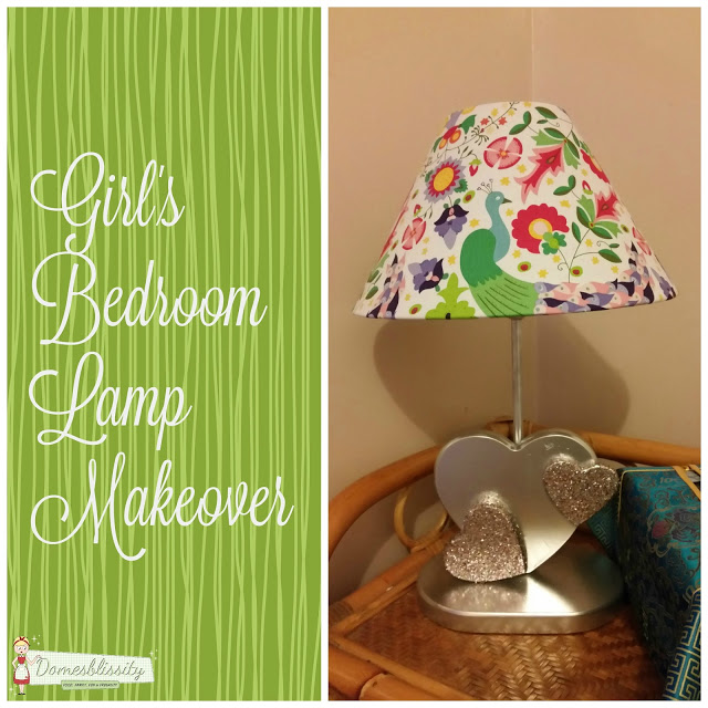 Girl's Bedroom Lamp Makeover