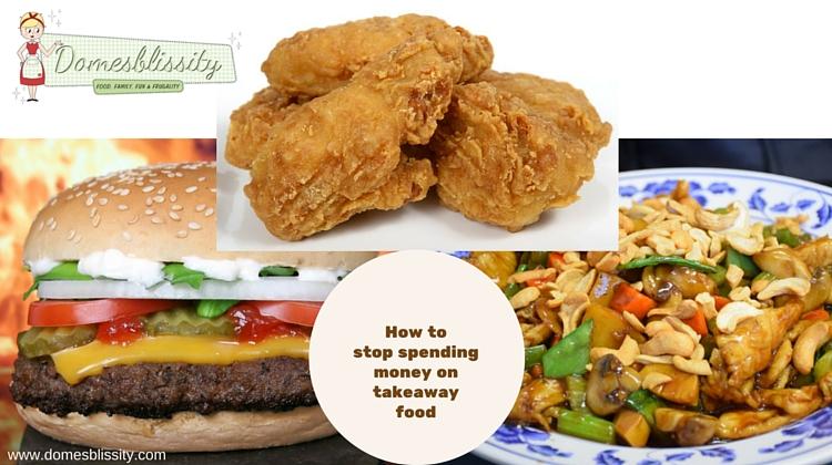 How to stop spending money on takeaway food
